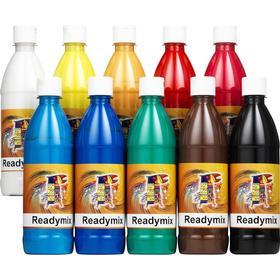 [NORDIC Brands] Readymix storsats 10 500mlx10 färger